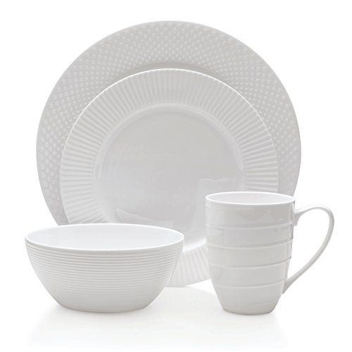 Mikasa 5218376 Cheers Dinnerware Set (Service for 4), (Mikasa Cheers Collection)