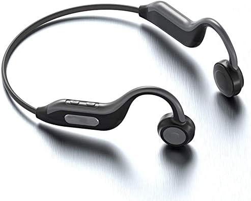 TYGYDLQ 骨伝導ヘッドフォン、内蔵メモリ8グラムヘッドセット、ブルートゥース5.0ヘッドセット、重低音ヘッドフォン、連続動作をジョギングワイヤレスヘッドフォン、マイクヘッドセット (Color : A)