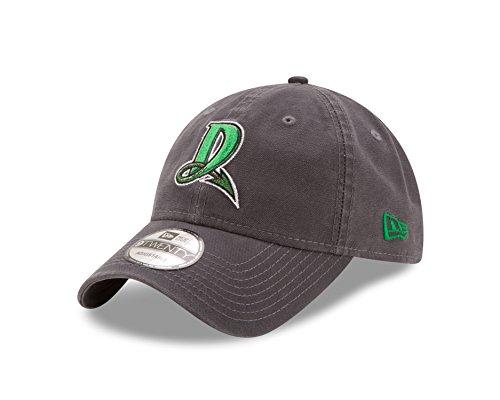 Minor League Baseball Dayton Dragons Core Classic Graphite 9Twenty Adjustable Cap, One Size, Graphite -