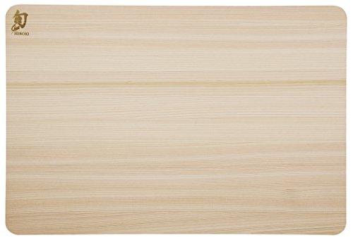 Shun DM0814 Hinoki Cutting Board, Small