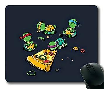 Teenage Mutant Ninja Turtles TMNT Eating Pizza Gaming Mouse ...