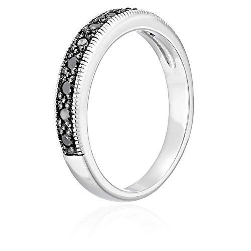Buy black diamond bands for women