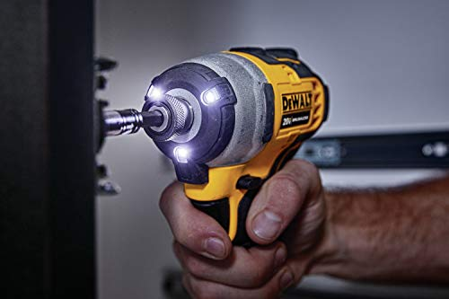 DEWALT DCF809C1 Atomic 20V Max Lithium-Ion Brushless Cordless Compact 1/4 In. Impact Driver Kit W/ 1 - http://coolthings.us