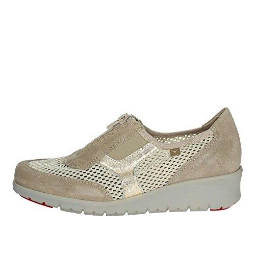 Mujer Zapatillas De 007 Cinzia Soft Bajas Beige Deporte IE9834L 39 qfx1aOxv