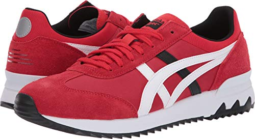 (Onitsuka Tiger by Asics Unisex California 78 EX Classic Red/White 12 Women / 10.5 Men M US)