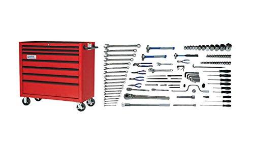 JH Williams MSC-118TB 118-Piece Metric Heavy Equipment service Set (Snap-on Tools Used)