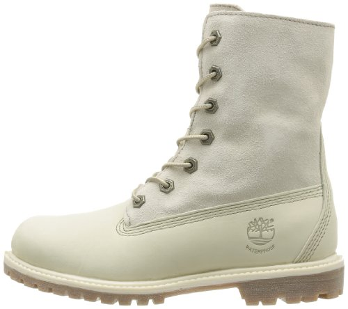 Wp Tedy Femme Blanc Timberland Flce White Auth winter Boots 1qfUnTx