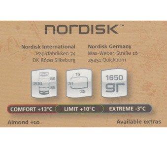 Nordisk Almond Sommer Deckenschlafsack 10 Grad