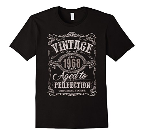 50th Birthday gift shirt Vintage dude 1968 50 year old shir