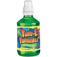 Tum-e Yummies Fruit Flavored Drink, Greentastic Apple, 10 Oz (Pack of 12 Bottles)