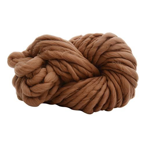 Baoblaze 1ロール 羊毛糸 編み糸 フェルト工芸 超柔 柔らかい 全9色 - 15