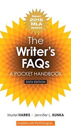 The Writer's FAQs: A Pocket Handbook, MLA Update (6th Edition)