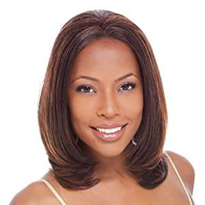 FREETRESS EQUAL Lace Front Synthetic Wig - KELLY - Color#2 - Dark Brown