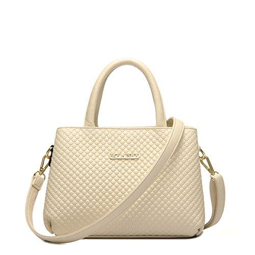 47sto Lady Women's Top-handle Handbag Fashion Shopper Cross Body Bag Medium Satchel-c5