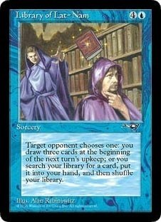 Library of Lat-Nam (Magic the Gathering : Alliances Rare)