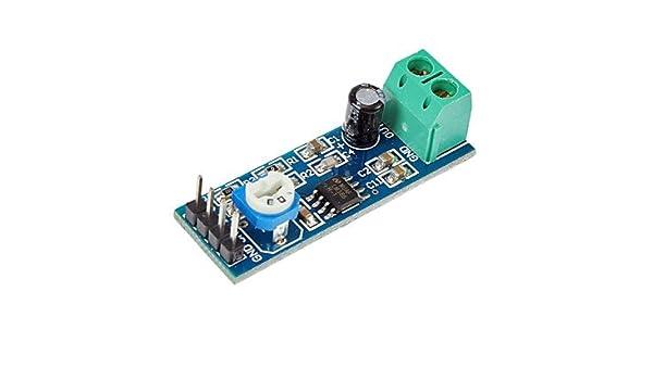 QSC- Nueva LM386 Amplificador de sonido Módulo LM386: Amazon.es: Electrónica