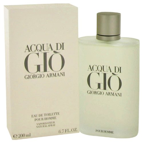 Acqua di gio cologne for men by giorgi arman 67 oz eau de toilette spray a free ralph rocks 17 oz shower gel