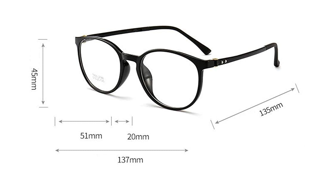 Alittle ultra-thin round metal transparent lens glasses frame