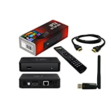 MAG 254 IPTV Full HD 3D Media Streamer STB - WiFi & HDMI Bundle Pack 2016 v2.7 Model