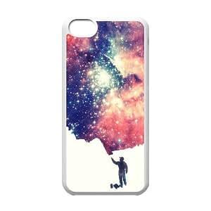 Personalized Unique Design Case for Iphone 5C, Painting The Universe Cover Case - HL-R677114