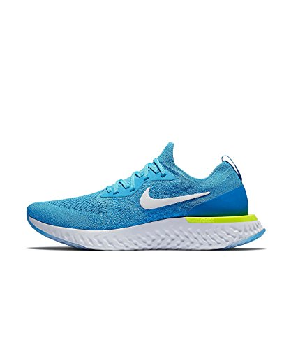 photo Running Uomo React volt Glow Nike Epic Scarpe Blue Flyknit Glow Blue white IwFAzxOAq
