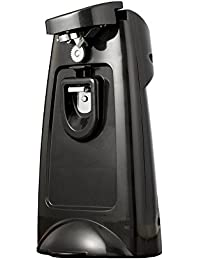 Bargain Brentwood Appliances J-29B Can Opener with Built-In Bottle Opener and Knife Sharpener, Black discount