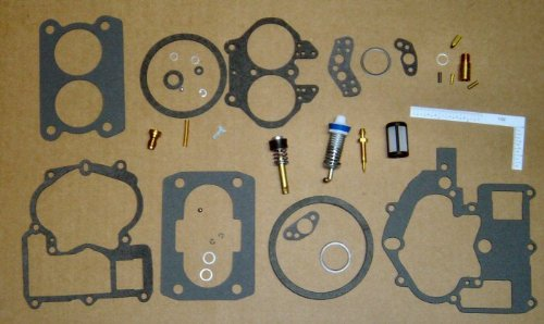 Tungsten Marine Carburetor Repair Kit fits ALL Mercruiser Mercarb 2 bbl replaces 3302-804845 and more!