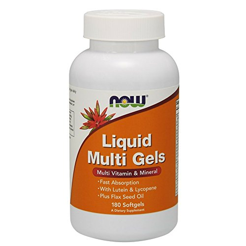 NOW Liquid Multi 180 Softgels