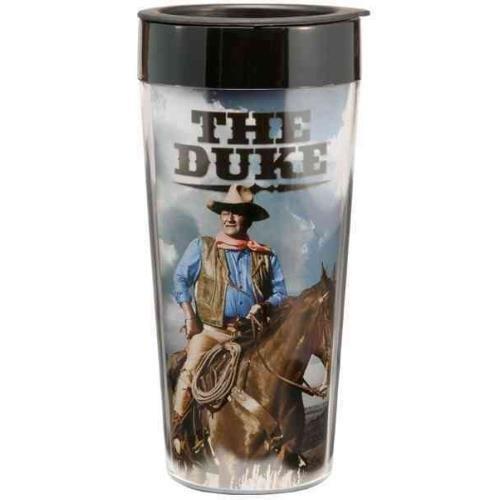 John Wayne 16 Oz. Plastic Travel Mug