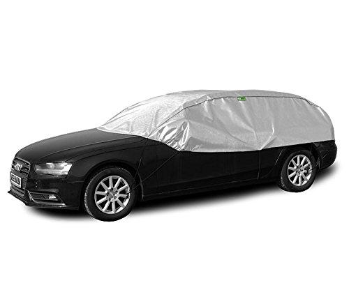 Solux - Sonne und Frost Scheibenschutz - Size und Model: L-XL hatchback/kombi - Halbgarage Autoabdeckung KEG-SX-LXL-HK-29 Kegel Blazusiak