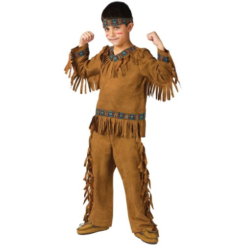 Fun World American Indian Boy Chld Med]()