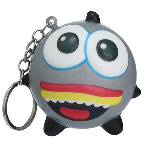 (Samoii Squishies Toy Adorable Cartoon Hamburger Kawaii Cartoon Animal Slow Rising Cream Scented Keychain Stress Relieve Cellphone Straps Toys)