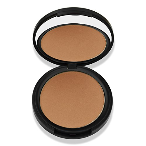 Best Organic 100% Natural Vegan Matte Bronzer Makeup, Made in USA, Pressed Bronzer Powder by BaeBlu, Endless Summer