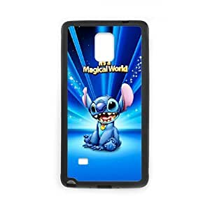 Unique Design Cases Kiurm Samsung Galaxy Note 4 N9108 Cell Phone Case Cute Stitch Printed Cover Protector