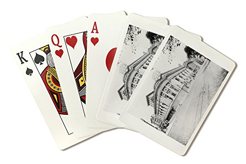 Century Opera House on Central Park West and 62nd Street NYC Photo (Playing Card Deck - 52 Card Poker Size with Jokers)