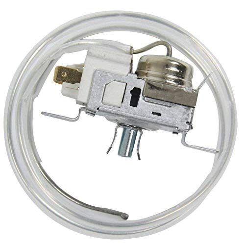 Podoy WP2198202 Refrigerator Thermostat Cold Control for Whirlpool 2198202 Kenmore Roper Estate KitchenAid 2169112 1115242 1115243 1115244 1115245 1129437 2161283 2169113 2299 AP3037004 PS329884 (Universal Refrigerator Thermostat)