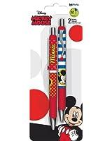 Disney Mickey and Minnie Gel Pen Set