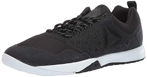 Reebok Men's CROSSFIT Nano 6.0 Cvrt Cross Trainer, Black/Go Yellow, 10.5 M US
