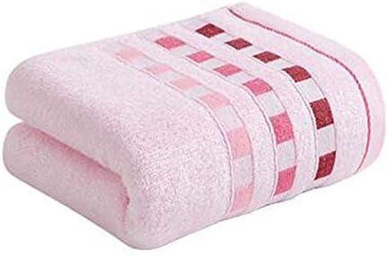 CQIANG タオル、強力吸収タオル、[4本セット]ピンク/イエローマルチカラーオプション76 * 34 Cm / 30.4 * 13.6インチ (Color : Pink)