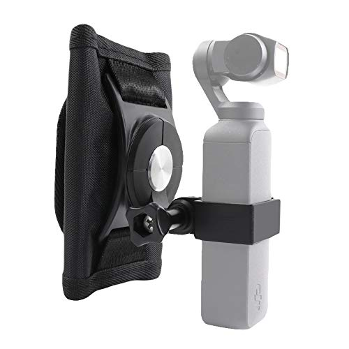 O'woda OSMO Pocket Backpack Mount Nylon Backpack Strap Expansion Holder Kit Hands-Free Bracket for DJI Osmo Pocket/Action Accessories