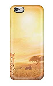 TYH - Case Cover For ipod Touch4 - Retailer Packaging African Cats Protective Case phone case