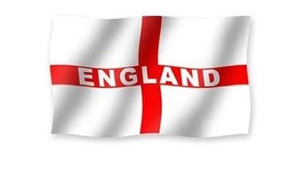 Los partidarios gigante Inglaterra Cruz de San Jorge de la bandera ...