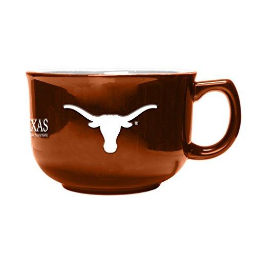 NCAA Texas Longhorns Sculpted Bowl Mug, 32-Ounce