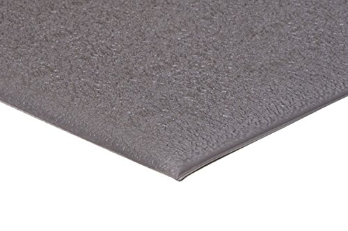 Comfort Step ESD w/Ground Cord and Snap 3/8'' Industrial Anti-Fatigue Mat, Grey, 2' x 3' by Portico Systems (Image #1)