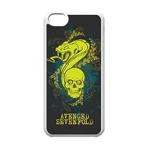 iPhone 5C Avenged Sevenfold pattern design Phone Case