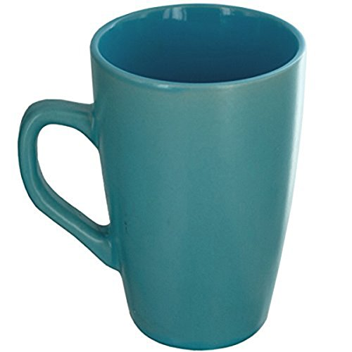 Ceramic Coffee Semi Gloss Finish Turquoise
