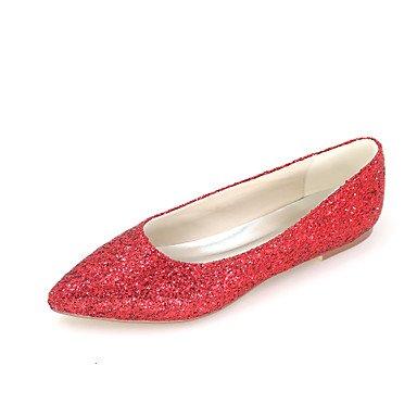 Boda De Rojo Otoño Flats Vestido Glitter Zapatos Verano Por Mujer Negro Ruby Fiesta Bajo amp;Amp; Noche Primavera Toe 1En La Señaló qgHvWdwS