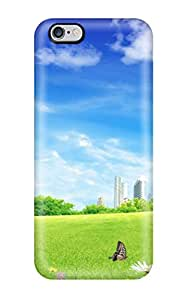 Durable Protector Case Cover With Future Fantasy City Hot Design For Iphone 6 Plus