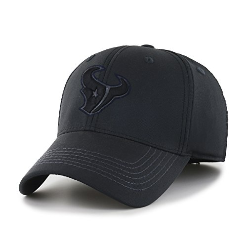 OTS NFL Houston Texans Wilder Center Stretch Fit Hat, Black, - Houston Texans Hat