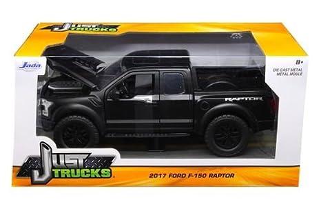 Jada   Ford F  Raptor Pickup Truck Matt Black  Cast
